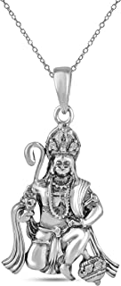 Best silver hanuman pendant Reviews