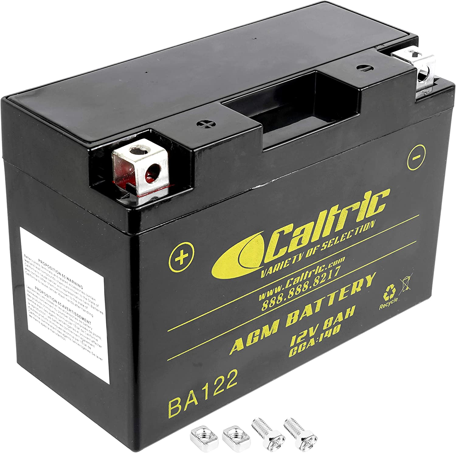 Caltric compatible with Agm Cheap mail order Washington Mall specialty store Battery 700R Raptor Y Yfm700R Yamaha