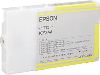 EPSON 純正インクカートリッジ ICY24A イエロー/110ml