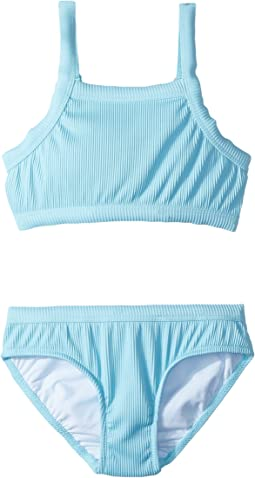 Seafolly Kids - Gypsy Dream Rib Tankini Set (Little Kids/Big Kids)
