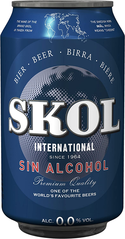 Skol Sin - Skol 0,0 Lata 33 cl