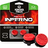 KontrolFreek FPS Freek Inferno for Xbox One Controller | Performance Thumbsticks | 2 High-Rise Concave | Red