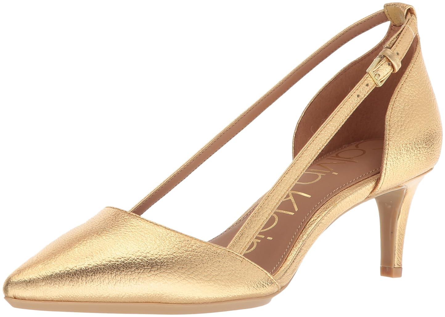 引き出す申し込む息切れ[Calvin Klein] レディース US サイズ: 9 B(M) US カラー: ゴールド