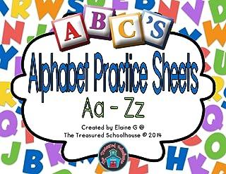 Alphabet ABC Practice Sheets Aa-Zz