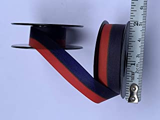 Universal Typewriter Ribbons - Custom Color Twin Spool Typewriter Ribbons (Blue and Red)