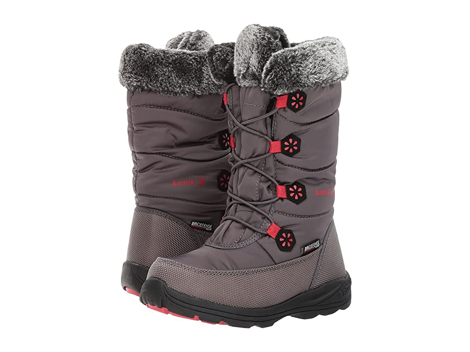 Kamik Kids Ava (Little Kid/Big Kid) (Charcoal) Girls Shoes