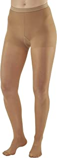 Ames Walker Women's AW Style 78 Soft Sheer Compression Pantyhose 8 15 mmHg Natural X Large 78 XL Natural Nylon/Spandex