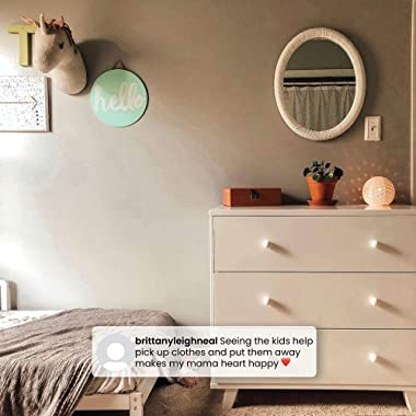 Delta Children Ava 3 Drawer Dresser with Changing Top, White