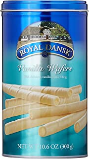 Royal Dansk Vanilla Luxury Wafer Rolls, 300G