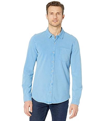 Mod-o-doc Windandsea Long Sleeve Button Front Shirt (Blue Clarity) Men