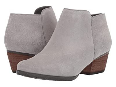 Blondo Villa Waterproof Bootie (Light Grey Suede) Women