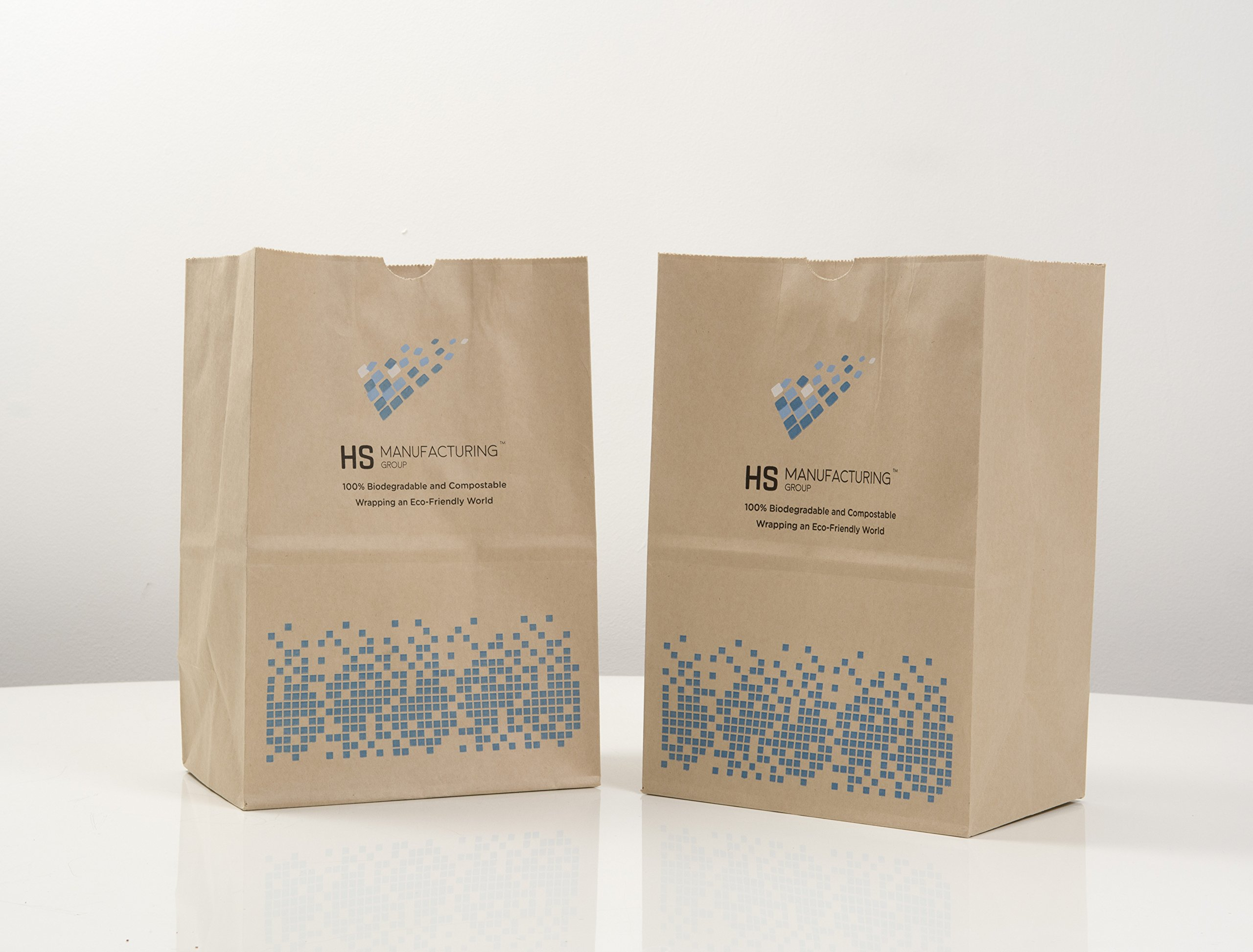 100% biodegradable, resistente al agua papel Bags- 50 bolsas ...