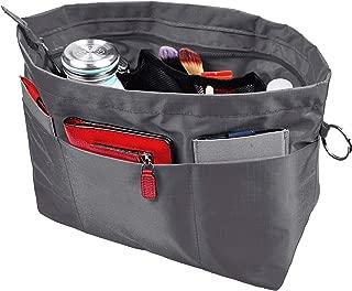 Handbag Purse Tote Pocketbook Organizer Insert Zipper...