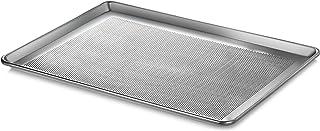 "New Star Foodservice 36770 Commercial-Grade 18-Gauge Aluminum Sheet Pan/Bun Pan, Perforated 18"" L x 26"" W x 1"" H (Full Siz..."