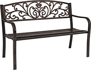 Best metal benches for patio Reviews