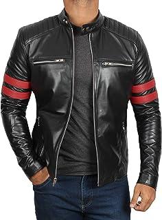 Leather Jackets for Men - Real Lambskin Leather Jacket Men