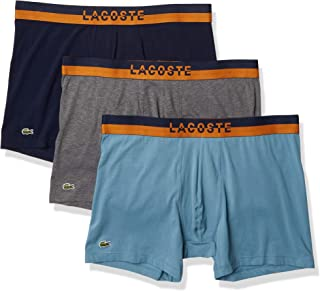 Men's Casual Lifestyle Neon Waistband 3pack Cotton Stretch Boxer Briefs