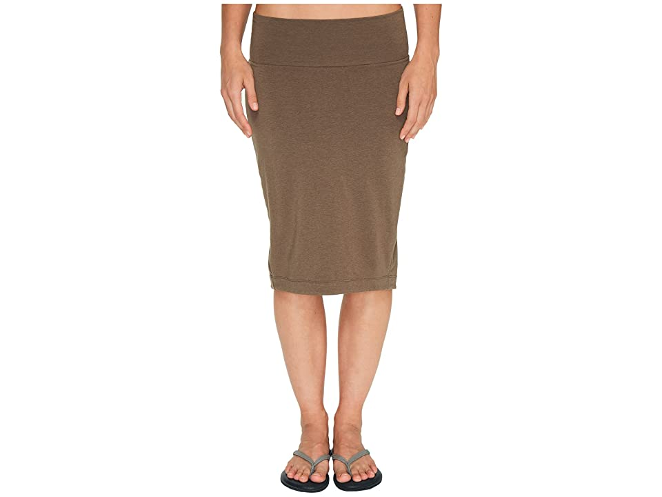 NAU Astir Lapiz Skirt (Sable) Women
