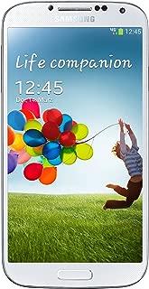 Samsung Galaxy S4 GT-I9500 Factory Unlocked Cellphone, 16GB, White