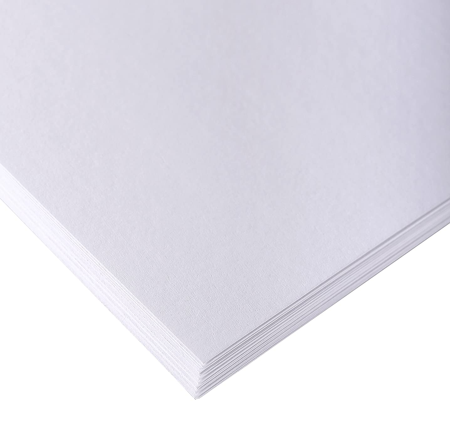 Clairefontaine 50 x 65 cm White Drawing Sketch Paper, 160 g, Pack 250 Sheets