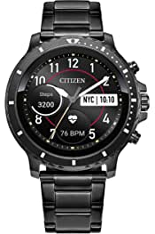 Citizen CZ Smart HR Heart Rate Smartwatch 46mm Silicone Stainless Steel Watch, Powered by Google Wear OS 3.8 out of 5 stars 28 $395.00$395.00 Ships to United Kingdom