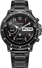 ساعت مچی دستبند Citizen CZ Smart HR ضربان قلب ساعت هوشمند 46 میلی متر خاکستری IP ، ساخته شده توسط Google Wear OS