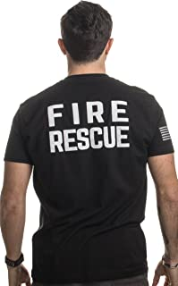 Fire & Rescue Maltese Cross | Firefighter Fire Courage Honor Men Women T-Shirt