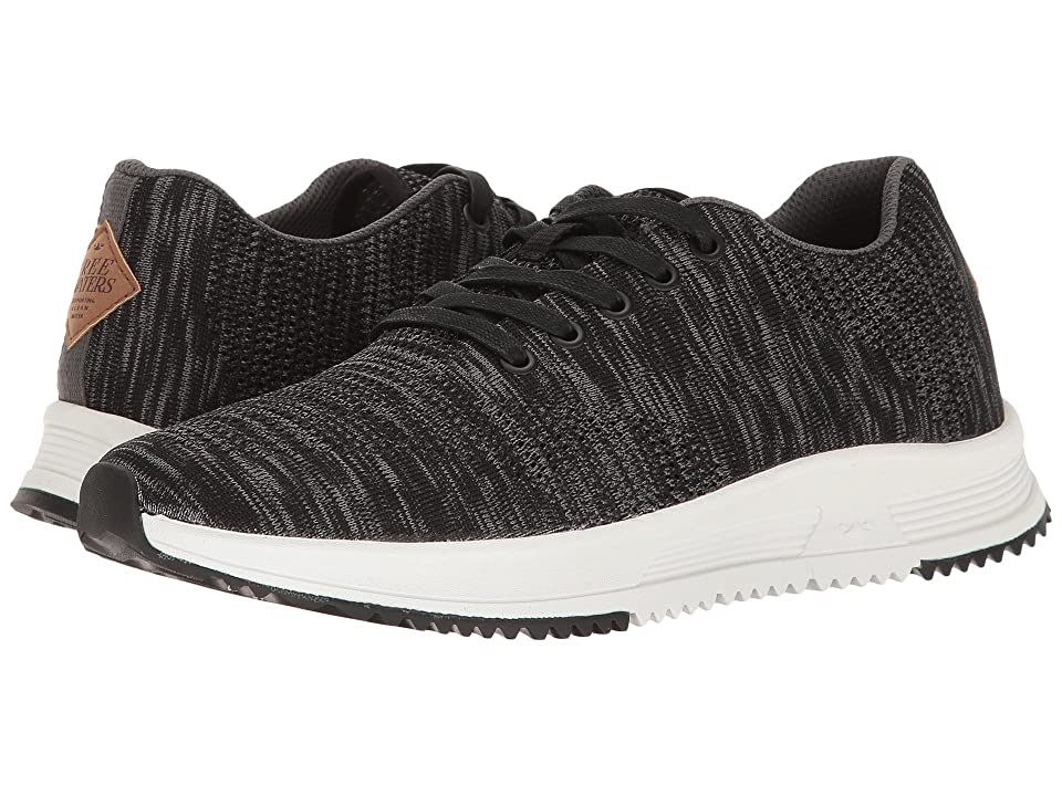 Freewaters Tall Boy Trainer Knit (Black/Grey) Men