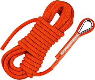 Color : 14mm, Size : 40M Jingdun Outdoor Mountaineering Rope Climbing Rope Static Rope Rappelling Rope Escape Camping Aerial Work Rope Main Rope 14mm//16mm Safety Rope Ropes