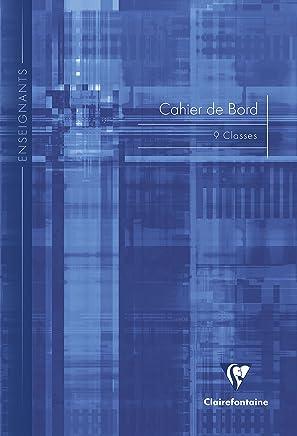 Clairefontaine 3129C Carnet de Bord Classes 9 reliure piqûre - 21 x 29,7 cm 60 pages Coloris Assortis