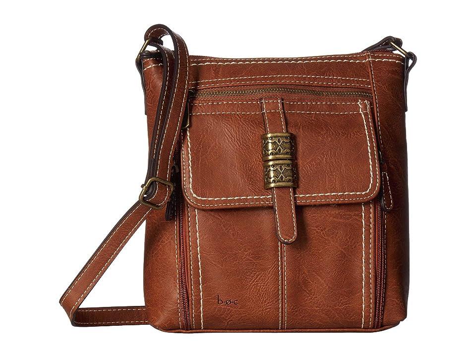 b.o.c. Howard Point Crossbody (Saddle) Cross Body Handbags, Brown