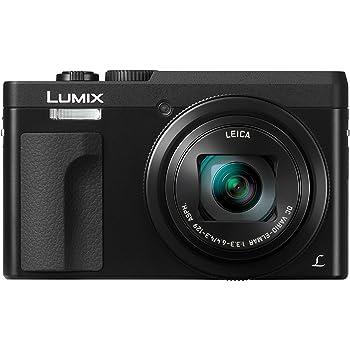 Panasonic DC-TZ91EG-K LUMIX High-End Reisezoom Kamera (Leica Objektiv, 30x opt. Zoom, 24mm Weitwinkel, Sucher, 4K)