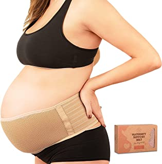 Maternity Belly Band for Pregnancy - Soft & Breathable Pregnancy Belly Support Belt - Pelvic Support Bands - Tummy Bandit ...