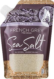 Best SaltWorks Sel Gris French Grey Sea Salt, Fine, Artisan Pour Spout Pouch, 16 Ounce Review