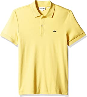 Lacoste Men's S/S Pima Jersey Polo Interlock Reg
