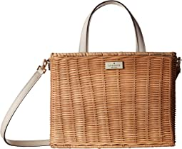 Kate Spade New York - Woven Straw Key Items Sam