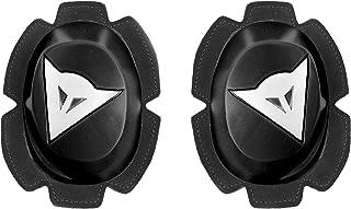 Dainese Knee Slider Motorcycle Protection `Pista Rain`, Black/White, Size N