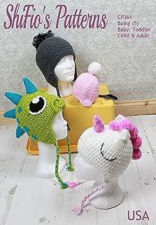 baby dinosaur hat pattern