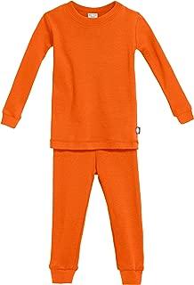 Boys Girls' Pajama Set PJS, Organic Cotton, Made in USA