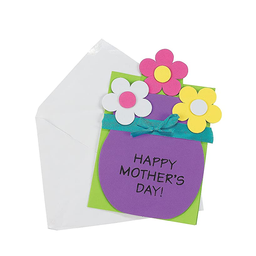 Mother's Day Pull-Out Card Craft Kit - Crafts for Kids & Novelty Crafts