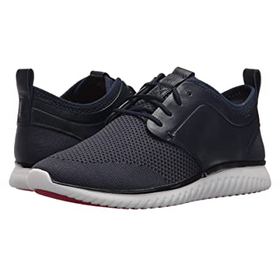 Cole Haan Grand Motion Knit (Marine Blue/Black/Optic White) Men