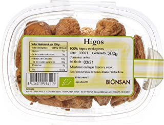 Bionsan Biogoret Higos - 4 Paquetes de 200 gr - Total: 800
