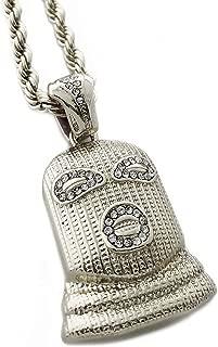 Exo Jewel Masked Thug Life Theme Pendant Necklace with 24