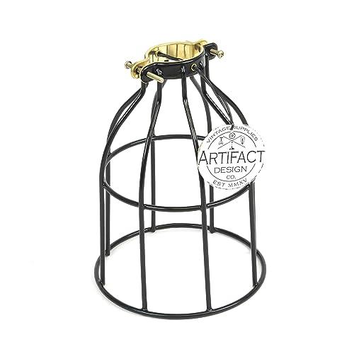 industrial cage lighting  amazon com