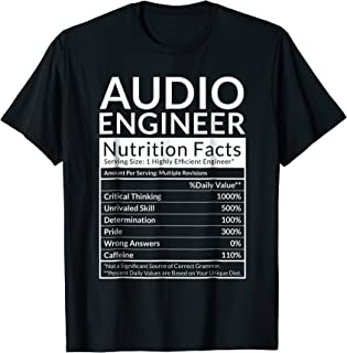 Audio Engineer Shirt Gift | Sound Engineering Gifts