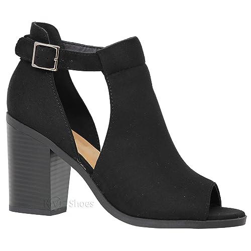 eb73cea9cfc Cutout Heels: Amazon.com
