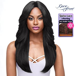 Outre Lace Front Wig I-Parting Swiss Lace - JASMINE (#1B Off Black)