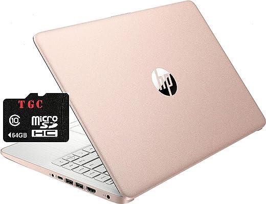 2021 HP Stream 14inch HD Display, Intel Celeron N4020 Dual-Core Processor, 4GB DDR4 Memory, 128 GB storage (64GB eMMC+64GB TGC Flash Memory), HDMI, WiFi, Webcam, Bluetooth,1-Year Microsoft 365 Win10 S