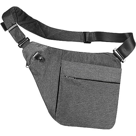 Sling Bag Brusttaschen Herren Und Damen, Schultertasche Mit Großer Kapazität Leichte Leicht Und Einfach Zu Tragen Brusttasche Multi-Pocket-Rucksack