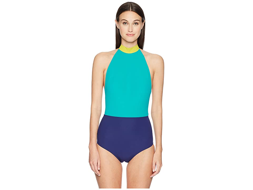 FLAGPOLE May One-Piece (Seagreen/Key/Navy) Women